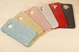 Переливающийся силиконовый чехол для Samsung Galaxy А6 А600 2018 (6 Цветов)
