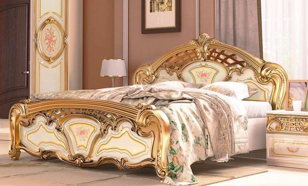 Спальня Реджина Голд 3Д Миро-Марк