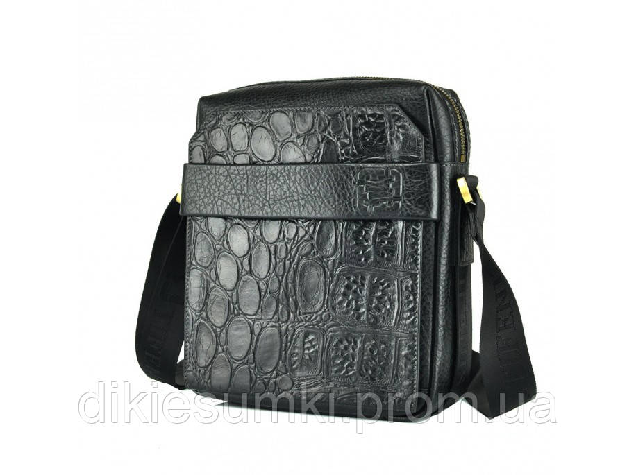 db482aff7a7a Мужская кожаная сумка на плечо ручная работа Tifenis TF69856-5CR в ...