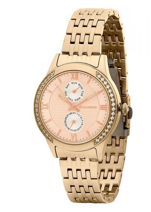 Жіночі наручні годинники Guardo P11717(m) RgRg