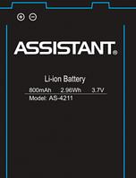 Аккумулятор для Assistant AS-4211