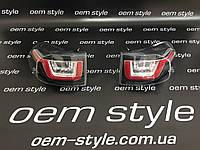Задние фонари FJ Cruiser стиль Evoque черная, фото 1