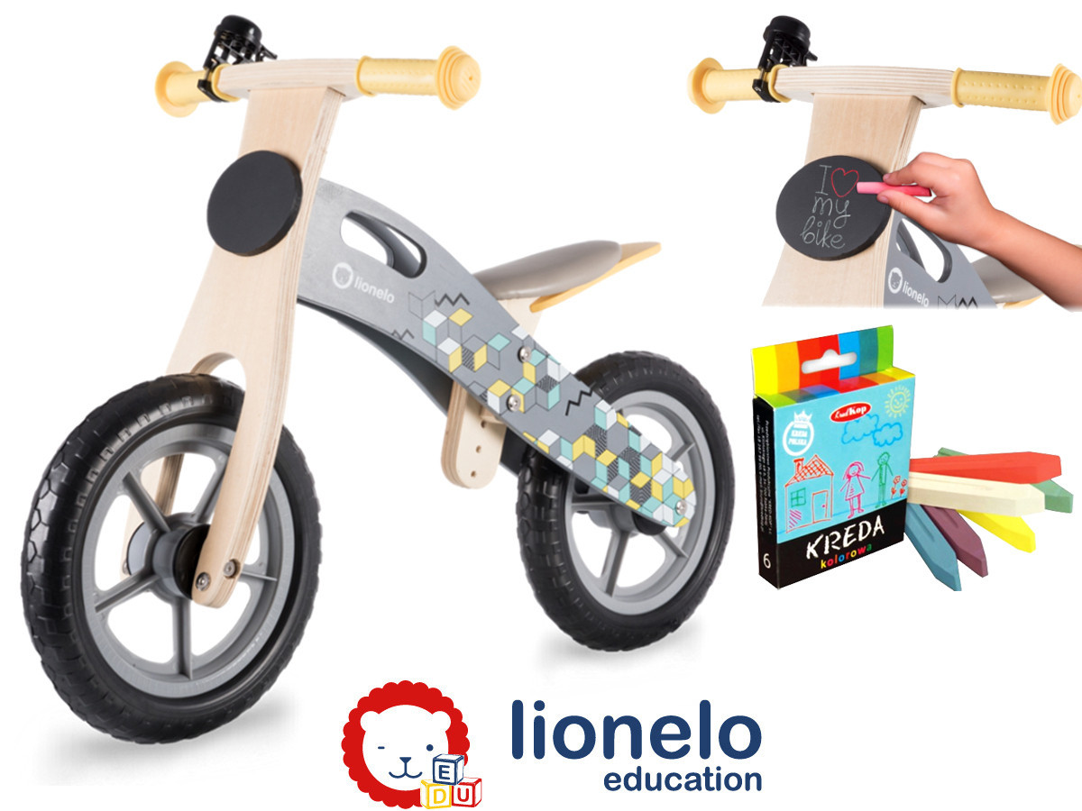 Велобіг LIONELO CASPER Grey