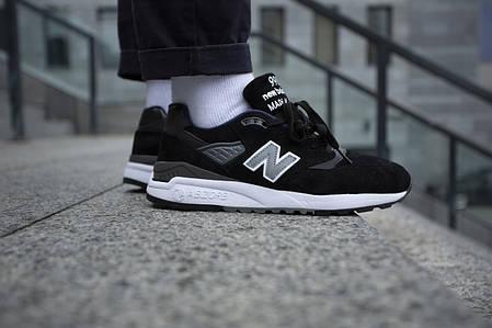 Мужские кроссовки New Balance 998  Black ( Реплика ) 42 размер, фото 2