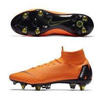 55d04f87 Бутсы Mercurial Superfly VI Elite SG-PRO Anti-Clog Orange, Nike, Мужская