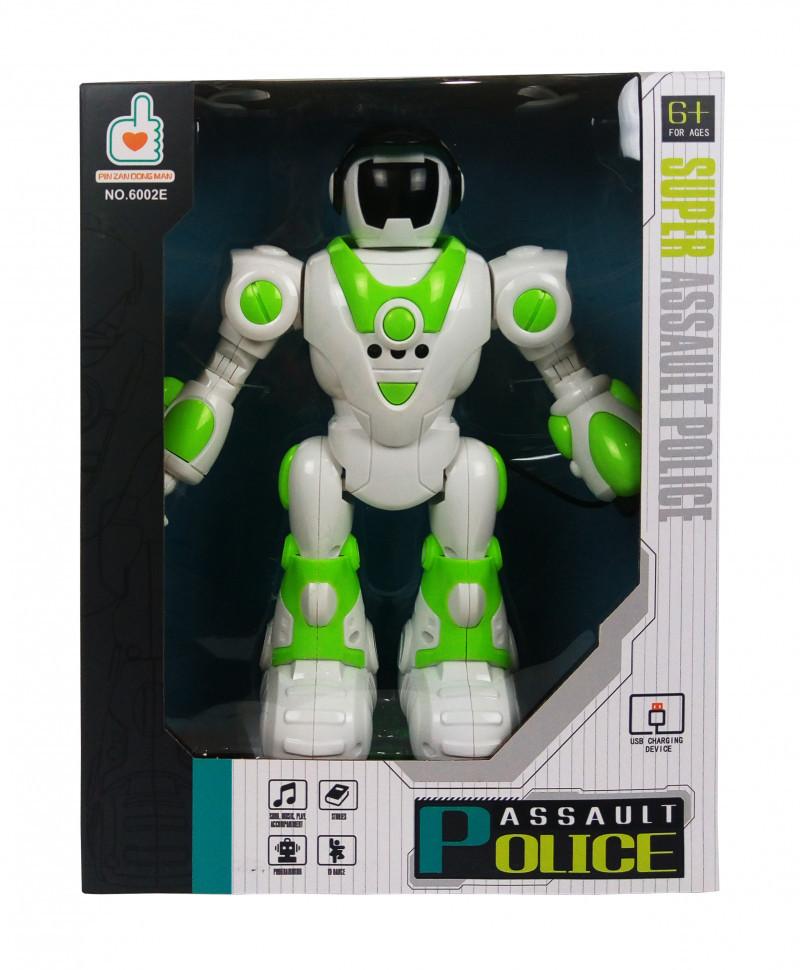 Робот Police на радиоуправлении танцует, ездит 27 см.