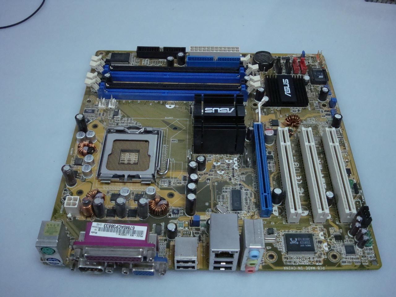 Материнская плата Socket775 Asus P5GV-MX DDR2 память,(I915GV, PCI-E x16)