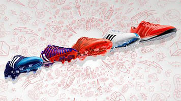 Эволюция бутс Adidas F50 adiZERO Messi за 2014 год
