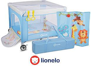 Детский манеж Lionelo Stella Blue Польша