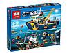 Конструктор Lepin 02012 Город Корабль для глубоководных экспедиций (аналог Lego City 60095)