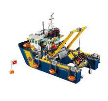 Конструктор Lepin 02012 Город Корабль для глубоководных экспедиций (аналог Lego City 60095), фото 3