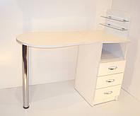 Маникюрный стол-трансформер Markson Эстет компакт №1, белый, складной