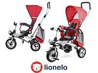 Велосипед-коляска трехколесный Lionelo TIM PLUS Red