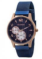 Жіночі наручні годинники Guardo P11718(m) RgBlBl