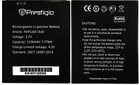 Аккумулятор к телефону Prestigio PAP 5300 2100mAh