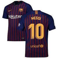4ff1af338bc9 Футбольная форма Барселона домашняя Месси (2018-2019), Nike, Клуб, Взрослая