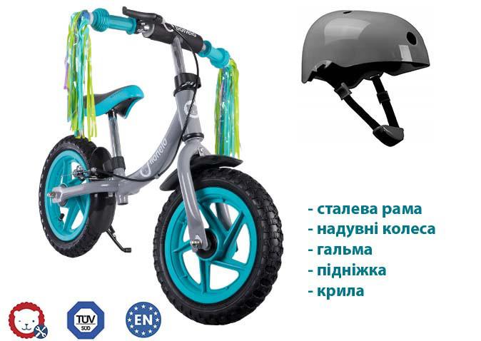 Велобіг Lionelo Ben 12 Turquoise Польща