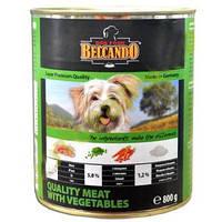 Консерва для собак Belcando Best Quality Meat мясо с овощами, 400 г