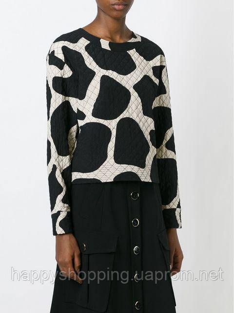 Женская стильнаяшелковая  кофта на молнии DKNY