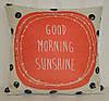 """Декоративная наволочка """"Good morning sunshine"""" (45х45)"""