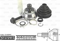 Наружный ШРУС левый/правый (38z/27z/59,5mm; ABS:45) AUDI A4, A6, A8, ALLROAD, V8; SKODA SUPERB I; VW PASSAT