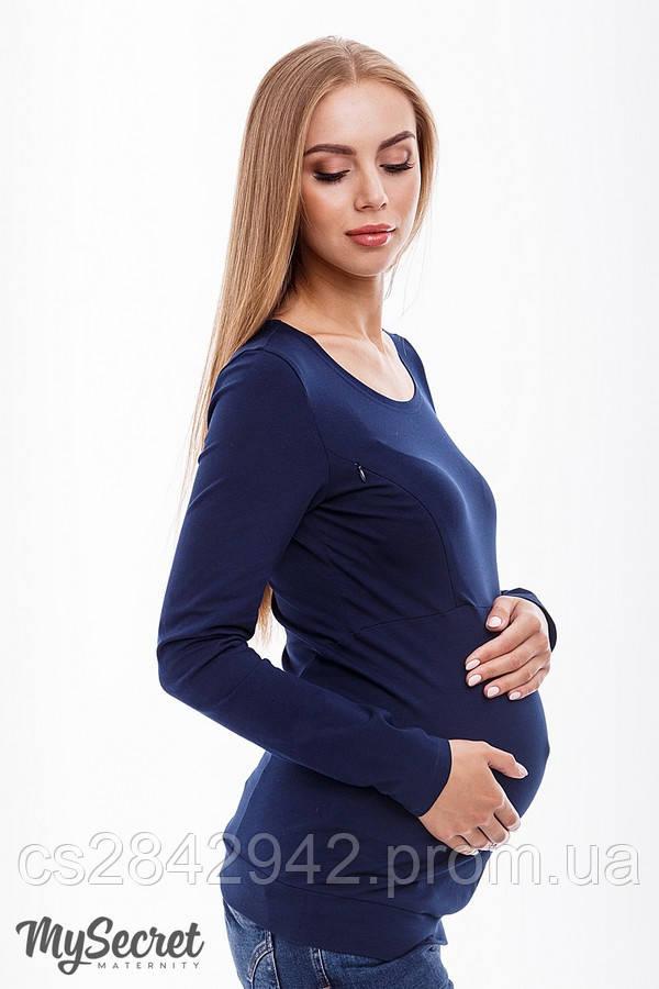 Лонгслів для вагітних і годуючих (Лонгслив для беременных и кормящих) CAROLINE 11.38.011