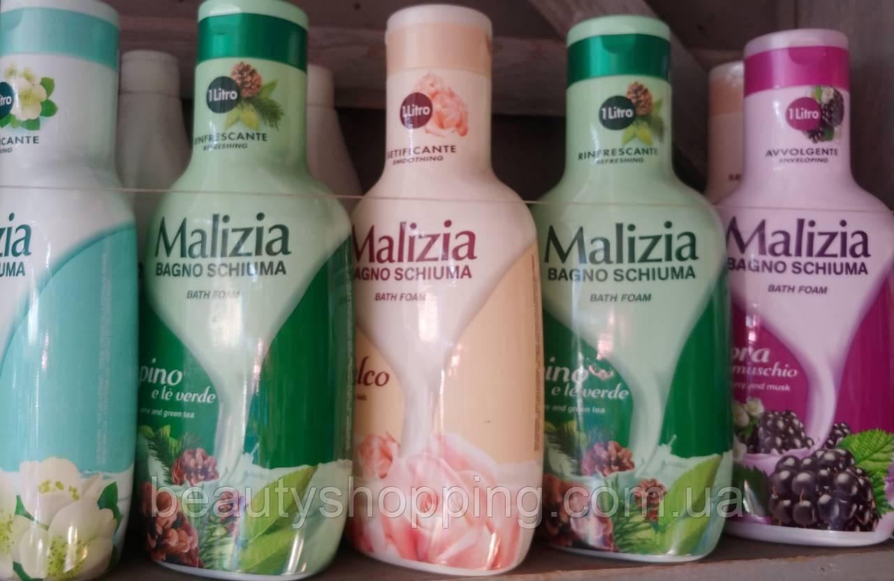 Malizia гель для душа в ассортименте 1000 мл Италия
