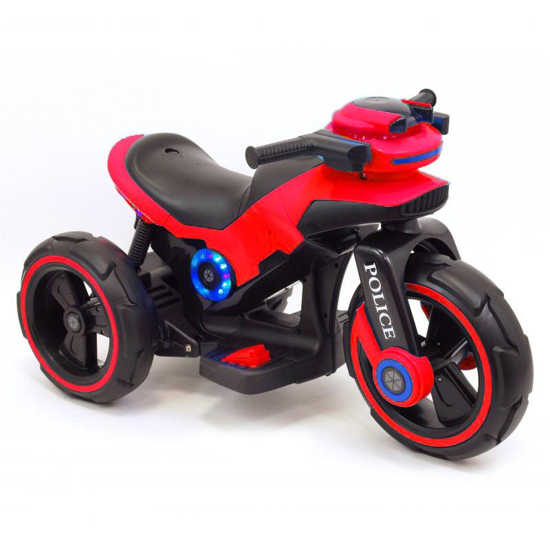 Электрический трицикл Police Red