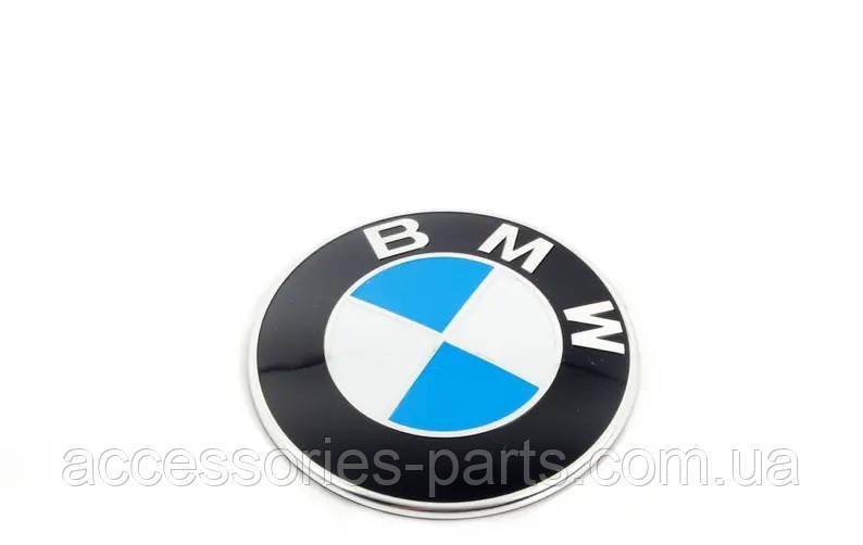 Эмблема капота (багажника ) BMW 82mm Новая Оригинальная