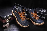 Мужские Ботинки Синие К2W-M1_sin р: 40 41 42 43 44 45, фото 1