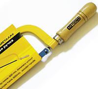 Ножовка по металлу 300мм, деревянная ручка