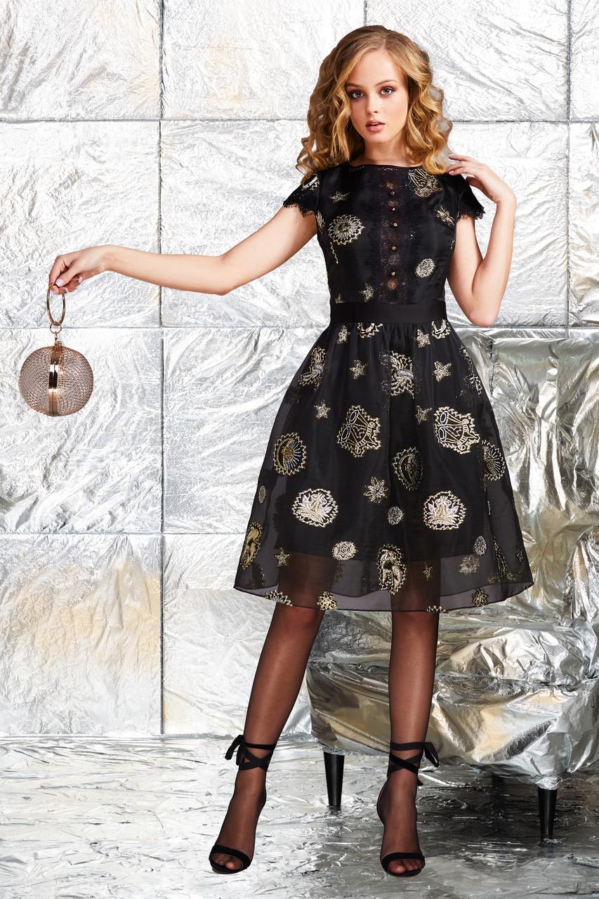 Женское черное платье MONROE 1.870. Noche Mio, фото 1
