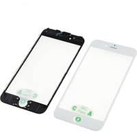 Скло дисплея з рамкою і плівкою OCA Apple iPhone 6 White