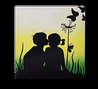 """Металокерамічний дизайн-обігрівач UDEN-S """"Кохання-зітхання"""" (Любовь-морковь), фото 1"""