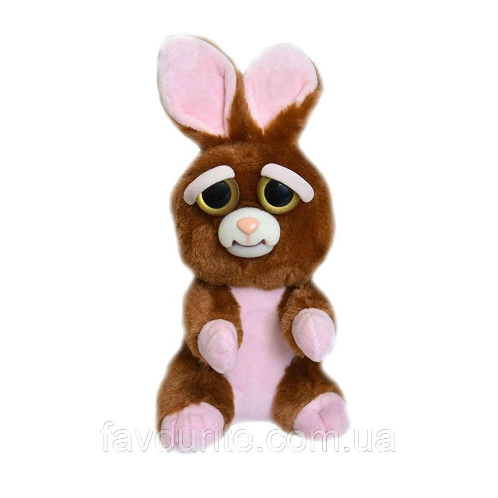 Интерактивная игрушка Feisty Pets Добрые Злые зверюшки Кролик 20 см (SUN0140)