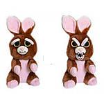 Интерактивная игрушка Feisty Pets Добрые Злые зверюшки Кролик 20 см (SUN0140), фото 2