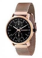 Чоловічі наручні годинники Guardo P11897(m) RgB