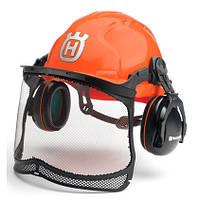 Защитный шлем Husqvarna с наушниками