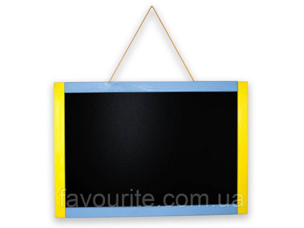 Мольберт-Доска настенная Зірка классика разноцветная 600х400 (286244)