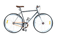Велосипед FIXED GEAR HelloBikes 28 Promax Fixie Silver Польша