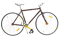Велосипед FIXED GEAR HelloBikes 28 Promax Fixie Brown Польша