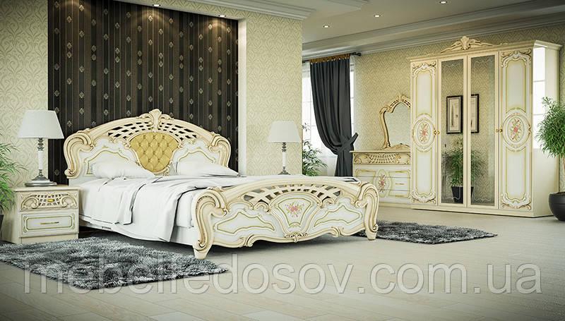 Спальня 4Д Кармен нова Люкс (Світ меблів)
