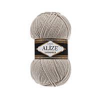 Пряжа для вязания Alize Lanagold 585 камень (Ализе Лана голд)