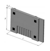 Плита среднего блока КС-7