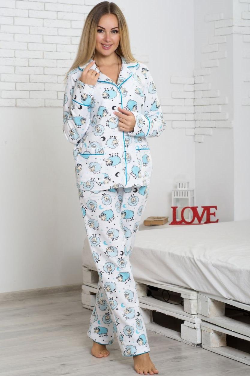1cd1abb82bf7 Фланелевая пижама теплая женская байковая кофта с брюками - Интернет  магазин Sport-sila.com