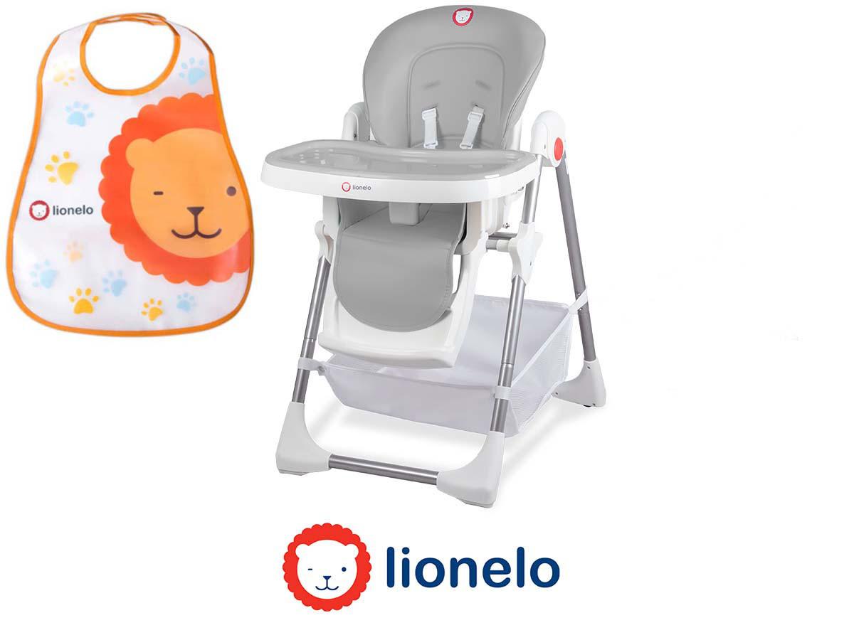 Крісло для годування Lionelo Linn Plus Grey