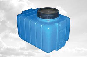 Ємність для води 250 літрів квадратна