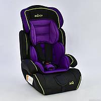 Автокресло детское JOY 8888 PURPLE (фиолетовое)