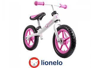 Велобіг Lionelo Fin 12 Pink Польща