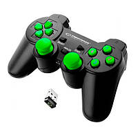 Геймпад безпровідний USB Esperanza Gladiator (EGG108G) Black/Green